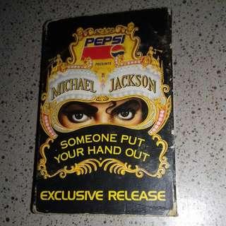 Kaset pita Exclusive Release Michael  Jackson, presented by Pepsi