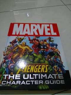 Marvel Avengers The Ultimate Characters Guide