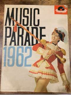 1962 Music parade magazine