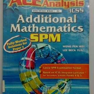 SPM Add Maths Ace Analysis