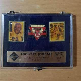Michael Jordan Collector's Edition Pin Set
