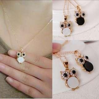 🎀 Owl Pendant Necklace