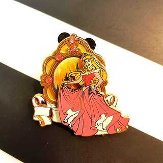 Aurora Castle Crystal Trading Pin