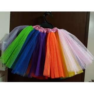 PreLoved Costume: Rainbow Tutu skirt