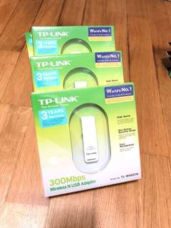 TP Link Wireless N USB Adapter 300mbps