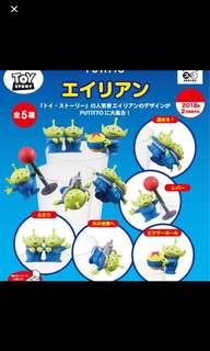 🚚 玩具總動員Toy Story三眼怪杯緣子💚