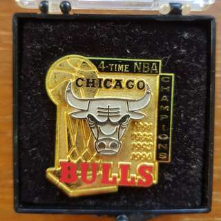 Chicago Bulls Limited Edition Pin