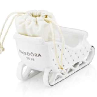 Pandora 2014 Christmas Sleigh Ornament