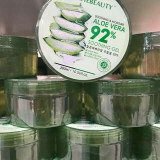 Aloe vera 92% soothing and moisture