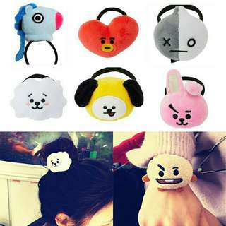 BT21 Hair Tie Unofficial