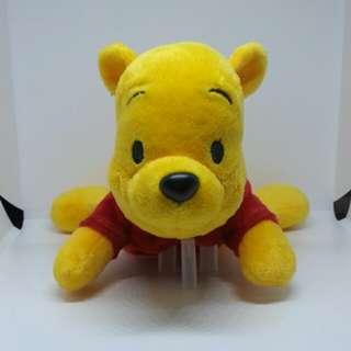 "Brand New 6"" Disney Winnie The Pooh Bear Tsum Tsum Laying Floating Figurine Plush Stuffed Soft Toy Beanbag"