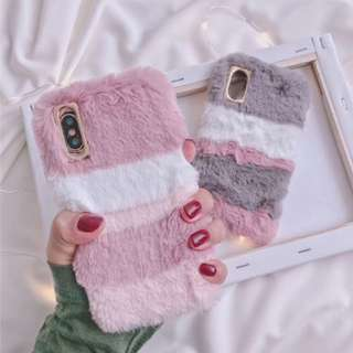 Soft Furry fur case phone cover