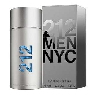 CAROLINA HERRERA 212 MEN NYC EDT FOR MEN