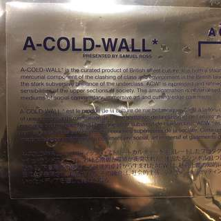 A cold wall ss18 book A COLD WALL ACW