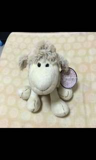 Sheep soft toy from New Zealand