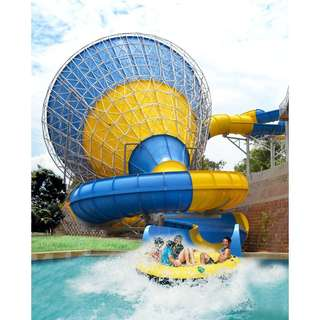A'farmosa water theme park x 2 voucher