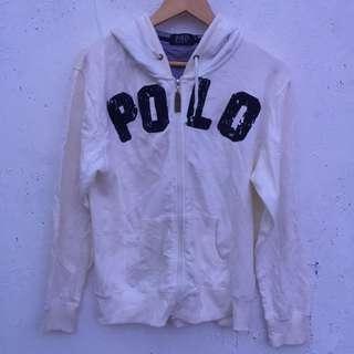 Polo Ralph Lauren Spell Out Zip Hoodie Sweater