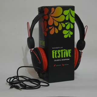 Headphone Festive edition BLK RED