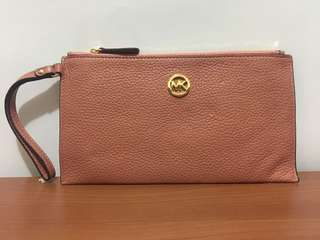 Michael Kors Wristlet - Antique Rose