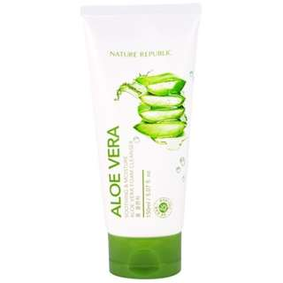 Nature Republic Aloe Vera Foam Cleanser (150ml)