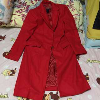 Marc By Marc Jacobs Red Coat Original price 7,890 羊毛長外套