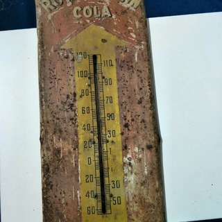 Vintage decor cola thermometer