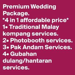 Premium Malay Wedding Package