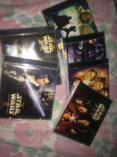 Original VCD STARWARS COLLECTION