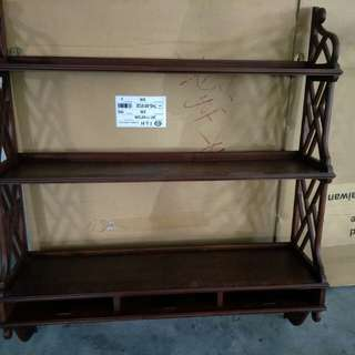 Wall wooden shelve price with delivery
