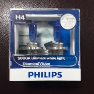 Philips headlight H4 diamond vision 5000K