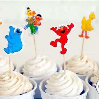 Sesame Street Cake Topper