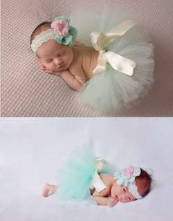 Baby girl Tutu and head band set