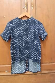 THIS IS APRIL NAVY TOP