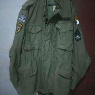 us army m65 field parka jacket not alpha industries avirex