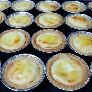 Japanese baked cheese tart