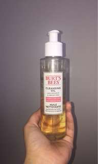 Burt's Bees Cleansing Oil w/ coconut and Aegean Oil