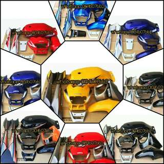 RXZ 5PV CATALYZER COVERSET (9 DESIGN)