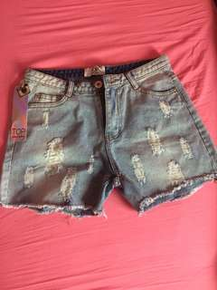 Never worn jean shorts