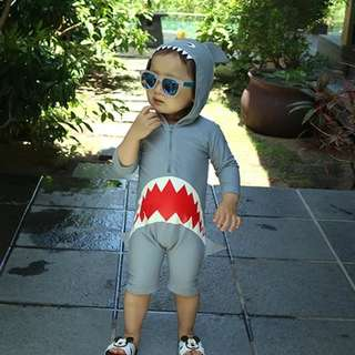 Shark toddler kid swimsuit swimwear