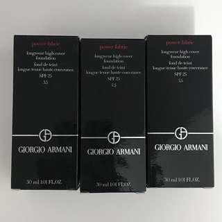 最後3枝超便!Giorgio Armani Power Fabric Foundation