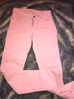 Stretch pants pink