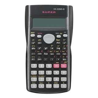 Portable Scientific Calculator Multi-function 2 Line Display 82MS-B Multi-functional Calculator for Mathematics Teaching