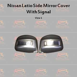 Nissan Latio Side Mirror with Signal