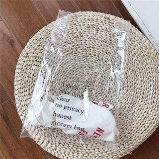 P 透明購物袋