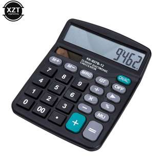 Universal 2 in 1 Powered 12 Digit Electronic Calculator For Office and Home Use