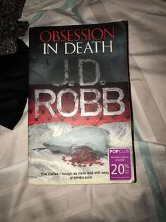 Obsession in Death , J.D Robb