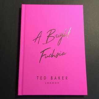 [可議價] TED BAKER - TED'S PINK PLANNER
