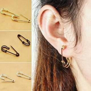 Screw/Spider/Safety Pin/Dolphin Ear Studs (CLEARANCE SALE)
