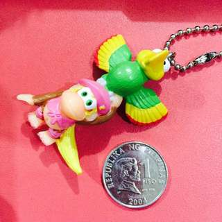 Parrot and Monkey Keychain