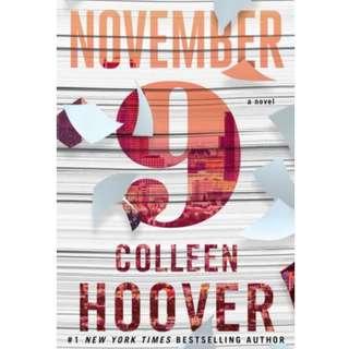 [eBook] November 9 - Colleen Hoover